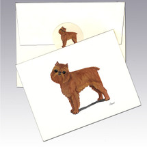 Belgian Griffon Note Cards