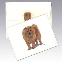Chow Chow Note Cards