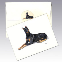 Doberman Note Cards