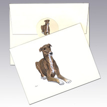 Greyhound Note Cards