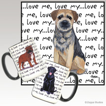 Border Terrier Love Me Mug