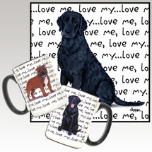 Curly Coated Retriever Love Me Mug