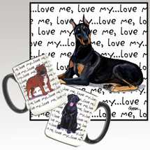 Doberman Love Me Mug