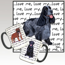 English Cocker Spaniel Love Me Mug