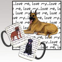 Great Dane Love Me Mug