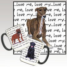 Greyhound Love Me Mug