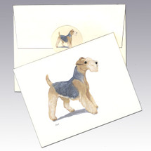 Lakeland Terrier Note Cards