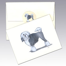 Lowchen Note Cards