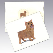 Norwich Terrier Note Cards