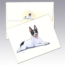 Rat Terrier Note Cards