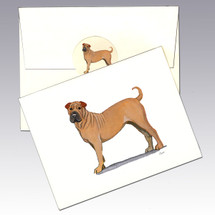 Sharpei Note Cards