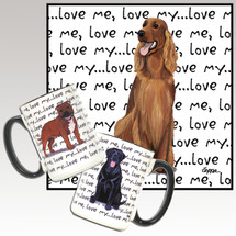 Irish Setter Love Me Mug