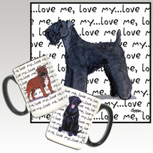 Kerry Blue Terrier Love Me Mug
