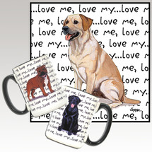 Yellow Lab Love Me Mug