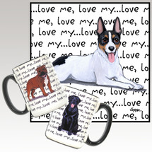Rat Terrier Love Me Mug