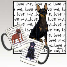 Toy Manchester Terrier Love Me Mug