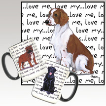 Welsh Springer Spaniel Love Me Mug