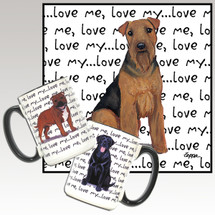 Welsh Terrier Love Me Mug