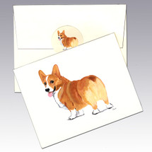 Welsh Corgi Note Cards