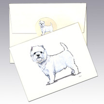 West Highland White Terrier Note Cards