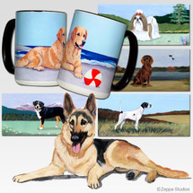 German Shepherd Scenic Mug
