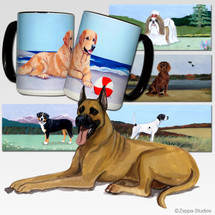 Great Dane Scenic Mug