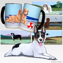 Rat Terrier Scenic Mug - Rectangle