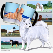 Samoyed Scenic Mug - Rectangle