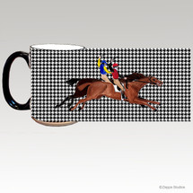 Antique Racers Houndzstooth Mug