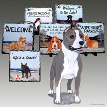 American Staffordshire Terrier Slate Signs