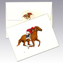 Race Horse Note Cards