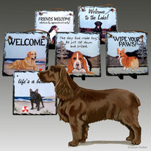 Field SpanielSlate Signs