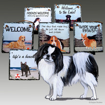 Japanese Chin Slate Signs