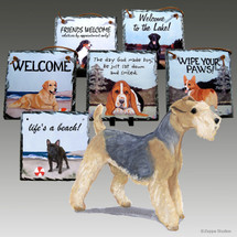 Lakeland Terrier Slate Signs