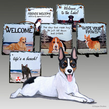 Rat Terrier Slate Signs