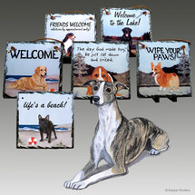 Whippet Slate Signs