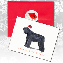 Bouvier Christmas Cards