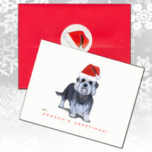 Dandi Dinmont Terrier Christmas Cards
