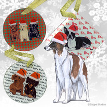 Borzoi Christmas Ornaments