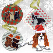 Cavalier King Charles Christmas Ornament