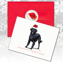 Flat Coated Retriever Christmas Cards
