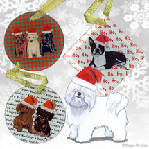 Coton du Tulear Christmas Ornament