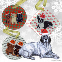 English Setter Christmas Ornament
