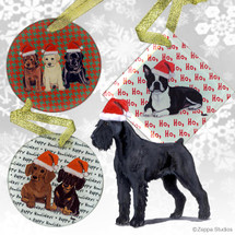 Giant Schnauzer Christmas Ornament
