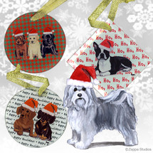 Havanese Christmas Ornament