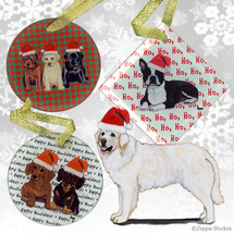 Kuvasz Christmas Ornaments