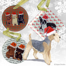Lakeland Terrier Christmas Ornaments