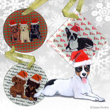 Rat Terrier Christmas Ornaments