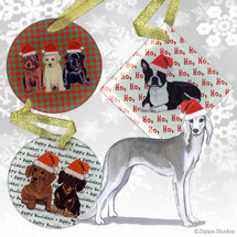 Saluki Christmas Ornaments