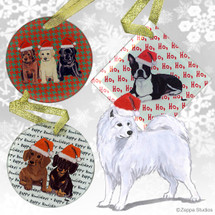 Samoyed Christmas Ornaments